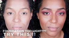 Find Your Light Foundation Got A Tan Your Foundation Too Light Here S What You Can