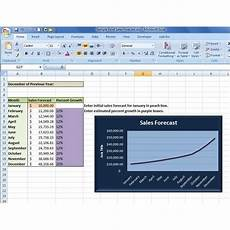 Sales Forecasting Excel Template How To Create A Sales Forecast In Excel Free Excel Sales