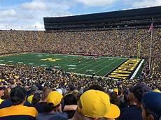 University Of Michigan Big House Seating Chart Michigan Stadium Interactive Seating Chart