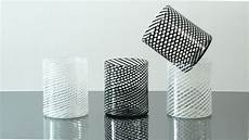 bicchieri neri vetro set bicchieri in filigrana bianchi e neri nicola