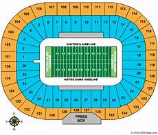 Notre Dame Stadium Seating Chart View Notre Dame Stadium Seating Chart