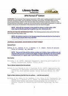 A Apa 40 Apa Format Style Templates In Word Amp Pdf ᐅ Templatelab
