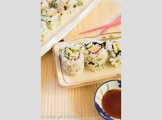 Spicy Chicken Sushi Roll   Cooking with a Wallflower