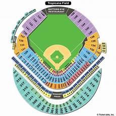 Rays Seating Chart Tropicana Field Tropicana Field St Petersburg Fl Seating Chart View