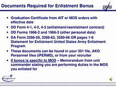 Army Reenlistment Bonus Chart Ppt Defense Finance And Accounting Service Defense