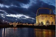 Newark Ohio Light The Night The Longaberger Company In Newark Ohio United States