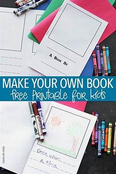 How To Make A Will Online For Free Free Printable To Make Your Own Book For Kids Kids Book