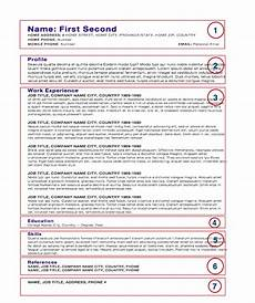 Free Chef Cv Template Chef S Cv Download Resources Now Available