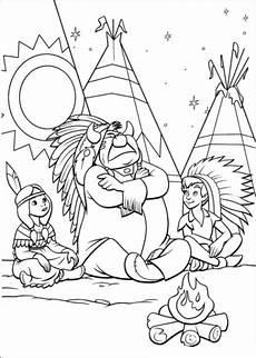 ausmalbilder zum ausdrucken gratis malvorlagen indianer 1