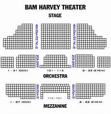Bam Gilman Seating Chart Brooklyn Academy Of Music Harvey Theatre Playbill