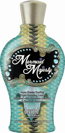 devoted creations mermaid majesty tanning lotion tanning