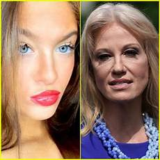 kellyanne conway s daughter claudia is officially pushing