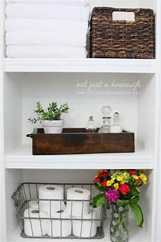 shelves in bathroom ideas bathroom shelves not just a