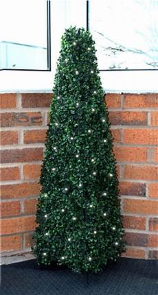 Garden Solar Light Topiary Bush Solar Powered 60 Led Light Up Indoor Or Outdoor Topiary