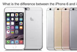 Image result for What is the difference between 6 and 6s?