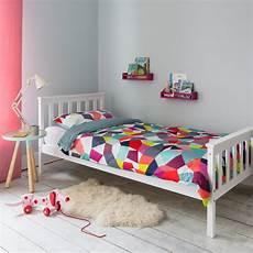 dorset single bed in white noa nani