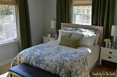 Blue And Green Bedroom Simplicity In The South Sweet And Master Suite A