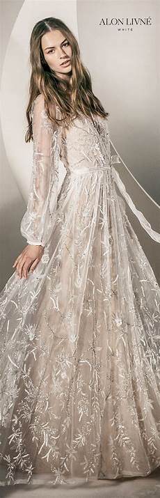 stunning alon livn 233 white 2020 wedding dresses