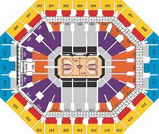 Talking Stick Stadium Seating Chart Phoenix Suns Us Airways Center Seating Chart