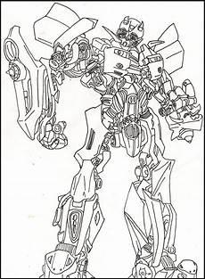 Bilder Zum Ausmalen Transformers Bumble Bee Transformers Coloring Picture For