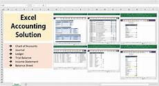 Bookkeeping Excel Templates All Excel Accounting And Bookkeeping Solution Template