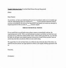 Collection Letter Samples Templates Collection Letter Template 7 Download Documents For Pdf