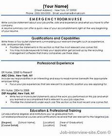 Emergency Room Rn Resumes Free 40 Top Professional Resume Templates