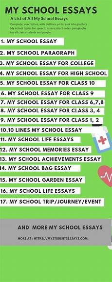 My School Essay For Kids My School Essays Long Amp Short Simple Easy Essays For