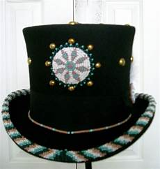 beadwork top beaded top hat indian 225 00 via etsy