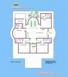 Floor Plan Of A Villa Villa Elevation And Floor Plan 4900 Sq Ft Home Appliance