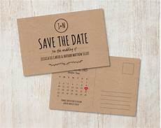 Wedding Save The Date And Invitations Rustic Wedding Save The Date Kraft Save The Date Rustic Save