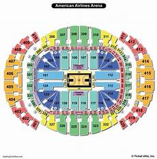 American Airlines Miami Arena Seating Chart American Airlines Arena Miami Seating Chart