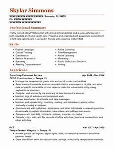 Pct Resume Best Pct Resumes Resumehelp