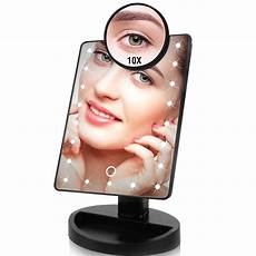 Vanity Mirror With Lights Battery Led Makeup Mirror With Light Bulb Touch Sensor Vanity