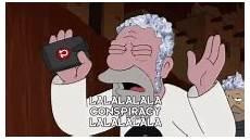 futurama illuminati conspiracy gifs tenor