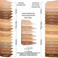 House Foundation Color Chart Makesense Original Foundation In 2020 Tinted Moisturizer