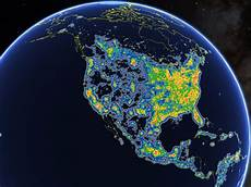 Places With No Light Pollution Cities With The Most Light Pollution Business Insider