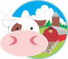 cattle farm clip barn png 2366 2079