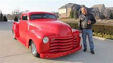 1951 chevy stepside custom pickup truck classic muscle car