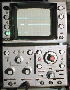Hp 180a Oscilloscope 1801a Vertical Amp 1821a Time Base