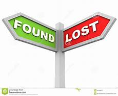 Lost And Found Sign Lost And Found Stock Illustration Illustration Of
