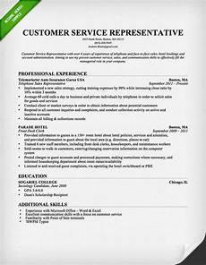 Customer Service Professional Resume Customer Service Cover Letter Samples Resume Genius