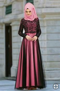 jual gaun pesta wanita dewasa kekinian baju muslim pesta
