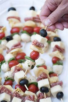 delicious ingredients all together in one appetizer