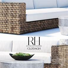 Outdoor Slipcovers For Sofa 3d Image by 3d Models Sofa Restoration Hardware Clodagh Outdoor Sofa