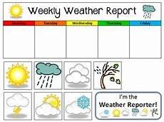5 Day Weather Chart Weekly Weather Report By Positively Playful Rayanna Van