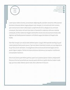 Letterhead Free Template 50 Free Letterhead Templates For Word Elegant Designs