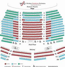Caesars Windsor Colosseum Seating Chart Seating Map Windsor Symphony Orchestra