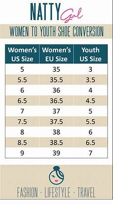 Youth Shoe Size Chart Vs Women S Shoes Day Tuesday Tip Convert Women To Youth Shoe Sizes