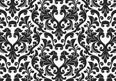 Free Damask Background Damask Black And White Wallpaper Free Images At Clker